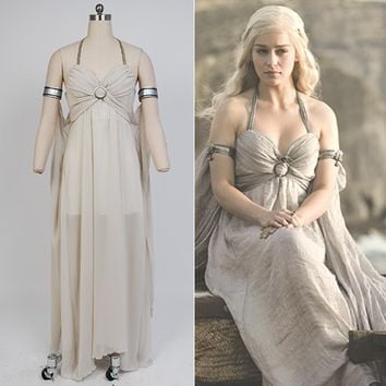 Game of Thrones Daenerys Targaryen Mother of Dragons Evening Dress