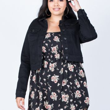 Plus Size All Year Round Jacket
