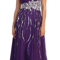 Strapless Sweetheart Dress Prom Gown Plus Sizes Design Rhinestones Floor Length