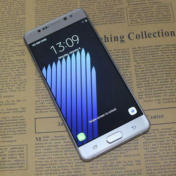 Android 6.0 Goophone Note 7 Quad Core MTK6580 Smartphone Show 4G LTE 1.3GHz 1GB 8GB 5.7