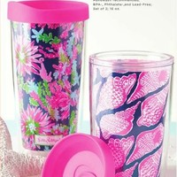 Lilly Pulitzer Insulated Tumbler Set - Ryan's Daughters
