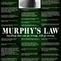 Murphy's Law Educational Poster