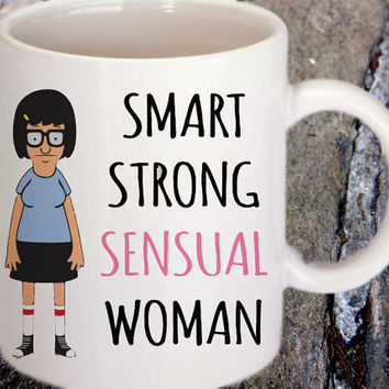 Tina Belcher Mug - Smart Strong Sensual Woman Mug