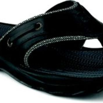 Sperry Top-Sider Outer Banks Slide Sandal Black, Size 11M  Men's Shoes