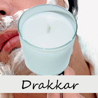 Drakkar Type Scented Candle in Tumbler 13 oz