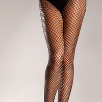 Wide Net Footless Tights