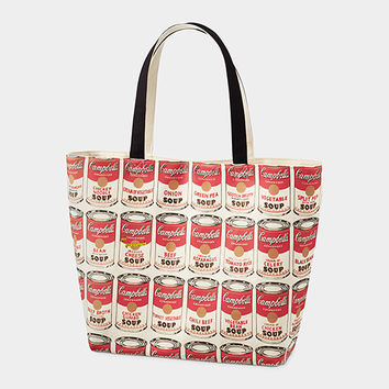 UNIQLO Andy Warhol Soup Can Tote Bag