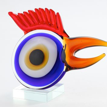 Chicken Abstract Sculpture