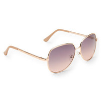 Square Aviator Sunglasses - Aeropostale