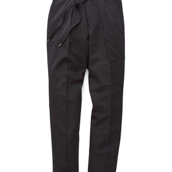 Todd Snyder Japan Wool Cuffed Drawstring Pant