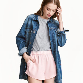 H&M Long Denim Jacket $49.99