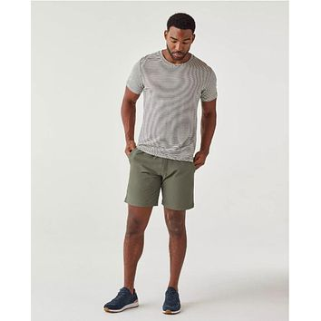 Olivers - All Over Zipped Olive Shorts