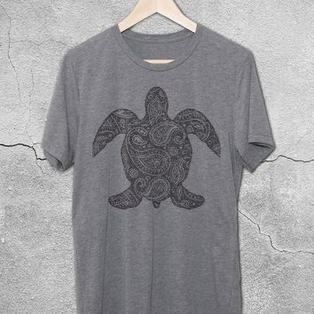 Paisley Sea Turtle T-Shirt