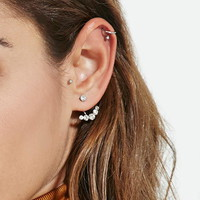Rhinestone Ear Jackets