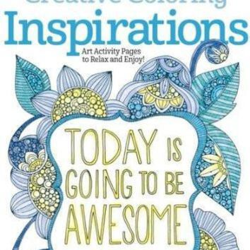 Today is Going To Be Awesome Adult Coloring Book