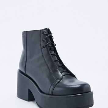 Vagabond Emma Hidden Lace Boots in Black - Urban Outfitters