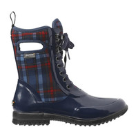 BOGS Sidney Lace Plaid Womens Insulated Boots