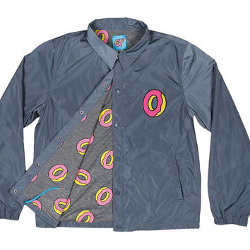 SINGLE DONUT COACH JACKET CHARCOAL – Odd Future