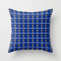 flag of winconsin 2-america,usa,midwest,great lakes, Wisconsinite, Badger, Dairyland, Throw Pillow by oldking