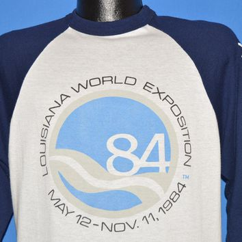 80s Louisiana World Expo 1984 t-shirt Large