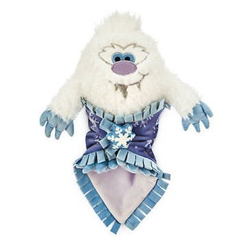"disney parks animal kingdom babies yeti plush doll with blanket 10"" new with tag"
