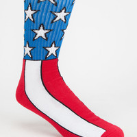 Vans Flag Mens Crew Socks Red/White/Blue One Size For Men 25829094801