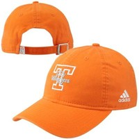 adidas Tennessee Lady Vols Basic Logo Slouch Adjustable Hat - Tennessee Orange