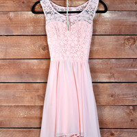 I'll Break Your Heart Dress- Light Pink