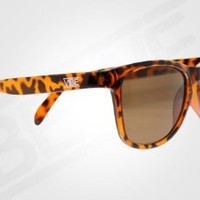 Mens and Womens Vintage 80's Wayfarer Sunglasses - Tortoise Spotted Brown - Vibe13