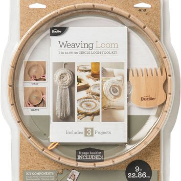 Circle Weaving Loom Kit