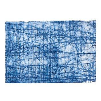 Tangle Placemat in Bue - Set Of 12
