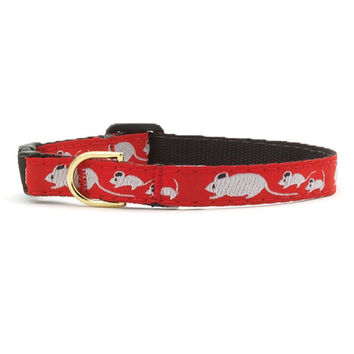 Up Country Mouse Cat Collar