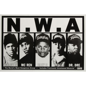N.W.A. - Domestic Poster