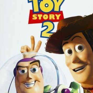 Toy Story 2 Movie poster Metal Sign Wall Art 8in x 12in