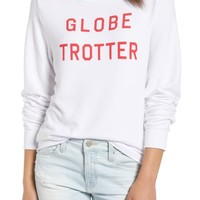 Wildfox Globetrotter Baggy Beach Pullover | Nordstrom
