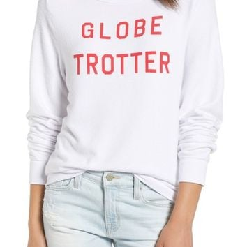 Wildfox Globetrotter Baggy Beach Pullover   Nordstrom
