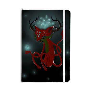 "Anya Volk ""Magic Fox"" Teal Fantasy Everything Notebook"