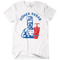 Doner Kebab Women's T-shirt - Döner Kebap Kabob Food German Turkish - S to 2XL