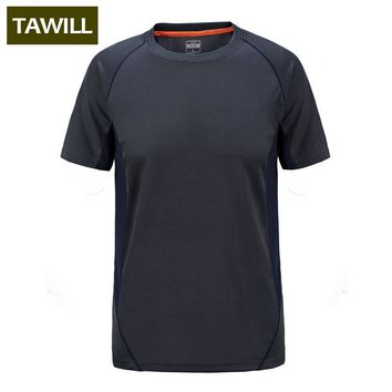 Field Base Fitness T Shirt Men Short Sleeve Quick Dry Men T Shirt Dry Fit Tshirt Casual Men O neck Tee Tops Plus Size M-7XL