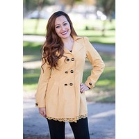 Women's Lace Hemmed Jacket