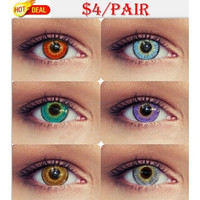 Small Pudding Large Diameter Color Contact Lenses