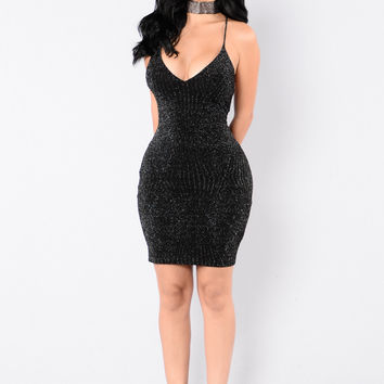 Be My Babe Dress - Black