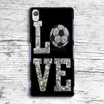 Love Cheer Soccer Sony Xperia Case, iPhone 4s 5s 5c 6s Plus Cases, iPod Touch 4 5 6 case, samsung case, HTC case, LG case, Nexus case, iPad cases