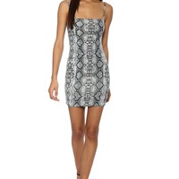 Brooklyn Karma Python Mini Dress
