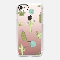 GREEN DESSERT CACTUS CACTI by Harvest Paper Co. iPhone 7 Case by Harvest Paper Co. | Casetify