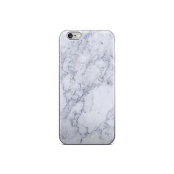 White Marble iPhone Phone Case