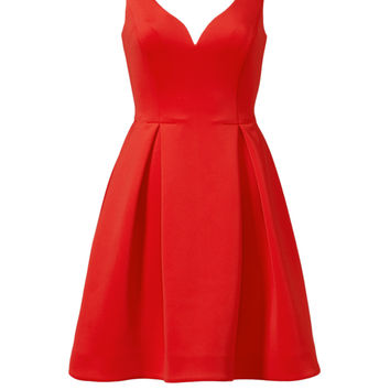 Slate & Willow Red Petal Dress