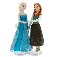 Anna and Elsa Ice Skating Doll Set - Frozen - 12''