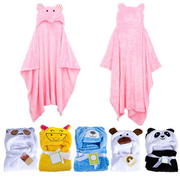 Choice of Animal Baby Hooded Bath Robes