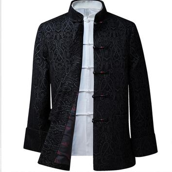 chinese style man jacket Typical fsashion customized men outerwear HY008